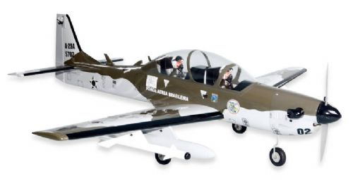 Seagull Super Tucano (91) includes Retracts 1.65m (65in) (SEA-124)